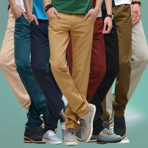 2016-Men-s-Chinos-Casual-Pants-Large-Size-Cargo-Pants-for-Man-business-Comfort-Cotton-Trousers
